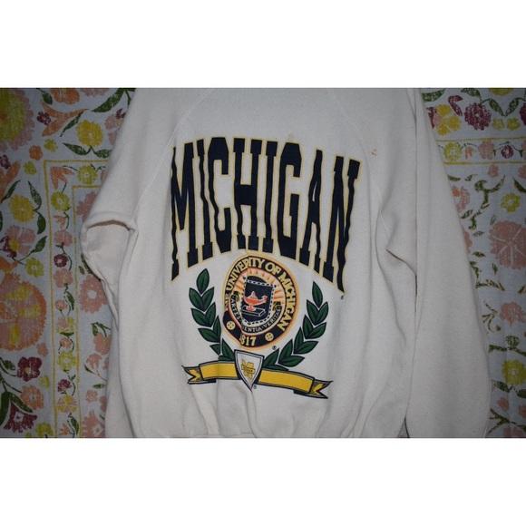 University of Michigan Vintage Crewneck